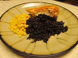 chicken black rice liver cleanse